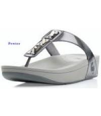 พร้อมส่ง รองเท้า FitFlop - Pietra สี Pewter ไซส์ US 5
