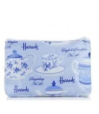 กระเป๋าตังค์ Harrods- Classic Tea Pots Purse (Made In UK) (พร้อมส่ง)
