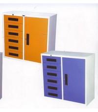 ตู้เหล็ก 1 บานเปิด+6ลิ้นชักเก็บเอกสาร