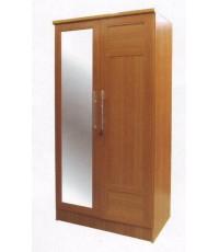 Ben120C (EF) ตู้เสื้อผ้า 2 บานประตูมีกระจกเงา ขนาด 120 ซม. สวยค่ะ