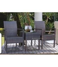ชุดโต๊ะหวาย Ceylon สำหรับ 2 ที่นั่ง