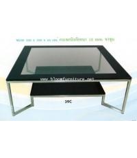 Buffet - โต๊ะกลางกระจก (Coffe Table) ตั้งคู่กับโซฟาค่ะ
