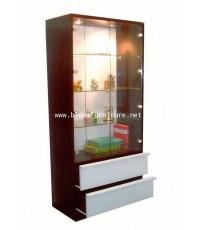 ตู้โชว์สินค้า ตู้โชว์กระจกมีไฟในตู้ค่ะ