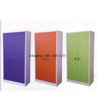 ตู้เหล็กเก็บเอกสาร 2 บานประตู (สินค้าจัดรายการพิเศษ สั่งซื้อ 6  ตู้เหลือราคา 3800.- บาทเท่านั้น)