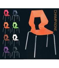 เก้าอี้สำหรับจัดสัมนา / ประชุม / ห้องเรียน สไตล์โมเดิร์น ซ้อนเรียงกันได้เก็บสะดวกค่ะ