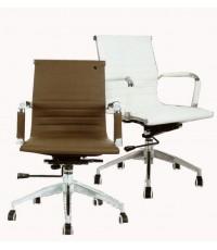 MONIX เก้าอี้สำนักงานโมเดิร์น ขาเหล็กชุบล้อ 5 ล้อ
