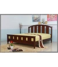 เตียงไม้ยางพารา รุ่น FOCUS มีขนาด 5 และ 6 ฟุต