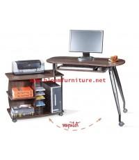 โต๊ะคอมพิวเตอร์โครงเหล็ก ทันสมัย ดีไซน์เก๋สุด ขนาด 157*54*75 ซม.
