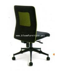 ASH-ME02  เก้าอี้สำนักงานโครงเหล็ก ที่นั่งหุ้มผ้า หลังพิงตาข่าย มีโช๊คไฮโดรริกปรับสูงต่ำ