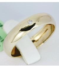 แหวนทองคู่รักฝังเพชร (ผู้ชาย)
