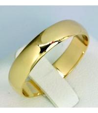 แหวนทองคู่รักสลักชื่อ (ผู้ชาย) 18K