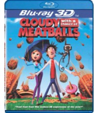 Blu-Ray Cloudy With A Chance Of Meatballs 3D