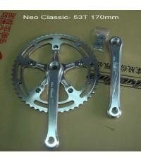 ชุดจาน Neo Classic 53T 170mm CNC AL6061