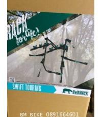 BNB RACK รุ่น SWIFT TOURING สำหรับรถเก๋ง5ประตูหรือ รถSUVไม่มียางอะไหล่ด้านหลัง