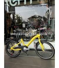 จักรยาน LA SENSE สีเหลือง ขนาดล้อ 20