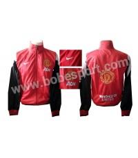 ชื่อสินค้า: เสื้อวอร์ม แมนยู แดงแขนดำ AON