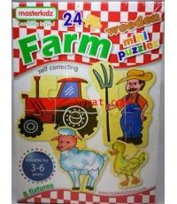 จิ๊กซอว์ไม้ Farm