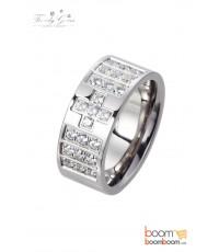 แหวนเพชร CZ ยี่ห้อ Trendy Gems รหัส R2017RY