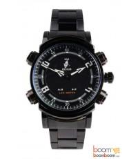 นาฬิกา Paris Polo Club รุ่น 3PP-887G-WHITE