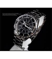 นาฬิกา SINOBI WATCH รุ่น 1850M-BLK สำหรับผู้ชาย