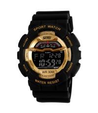 นาฬิกาแฟชั่นสปอร์ต ยี่ห้อ SKMEI รุ่น 1012-BlackGold