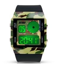 นาฬิกาข้อมือ ยี่ห้อ SKMEI รุ่น 0841-สีกากี