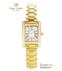 นาฬิกาข้อมือ Royal Crown รุ่น 6306-Gold