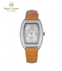 นาฬิกาข้อมือ Royal Crown รุ่น 3635L สีเหลืองทอง