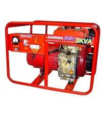 เครื่องกำเนิดไฟฟ้าดีเซล 3KVA / HONMAR DH600