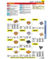 Page 139_INSERTS - ISO MILLING