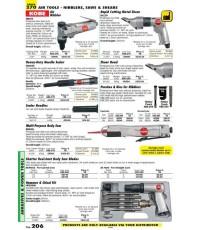 เครื่องมือช่างหมวด AIR TOOLS - NIBBLERS , SAWS AND SHEARS หน้า 206