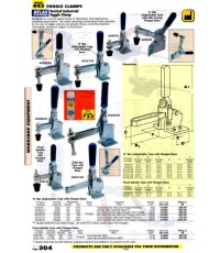 เครื่องมือช่างหมวด TOGGLE CLAMPS หน้า 304