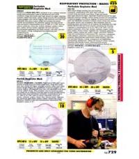 เครื่องมือช่างหมวด RESPIRATORY PROTECTION - MASKS หน้า 729