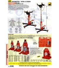 เครื่องมือช่างหมวด AUTOMOTIVE - JACKS and STANDS หน้า 338