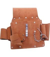 กระเป๋าเครื่องมือช่างหนัง 4ช่อง 3770K