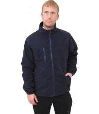 เสื้อแจ๊คเก็ต Microfleece สีดำ Size XXL
