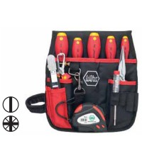 ชุดกระเป๋าเครื่องมือช่างไฟฟ้า VDE 10ตัวชุด 006491
