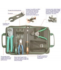 Solar MC3 MC4 Crimping Tool kit 008014