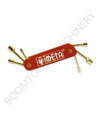 บล็อคชุดพับได้ 6ตัว META 009673