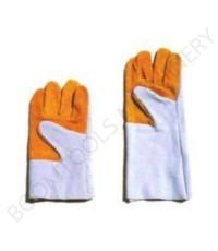 ถุงมือหนัง 2สี 011963