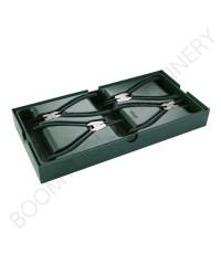 ชุดถาดคีมถ่างแหวนพร้อมคีมหนีบแหวน 4ชิ้น SATA 012019