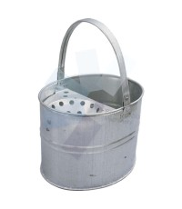 Cotswold.3 Gallon Galvanised Heavy Duty Mop Bucket