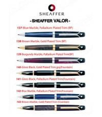 แค็ตตาล็อค ปากกาเชฟเฟอร์ Sheaffer Valor
