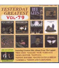 M0035 เพลงสากลในอดีต YESTERDAY 1 เช่น BEE GEES - EAGLES - CCR - CHICAGO -SANTANA - JOHN DENVER - KEN