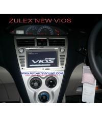 ZULEX NEW VIOS แทนเครื่องเสียงเดิม ลงบล็อกเดิมพอดีเหมือนเป็นตัวเปลี่ยนมาตรฐาน OEM
