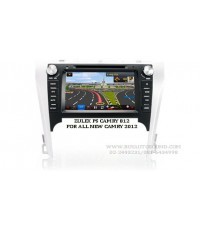 ZULEX PS-CAMRY812(G)  เครื่องเล่น 2 din touch screen zulex สำหรับรถตรงรุ่นเฉพาะ TOYOTA ALL NEW CAMRY