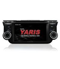 Zulex New Yaris2013 รุ่น TY-VS13(G) สำหรับรถรุ่น Toyota new yards มีจีพีเอสในตัว powermap ใช้งานได้ห