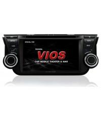 Zulex NEW VIOS 2013 รุ่น TY-VS13(G) สำหรับ toyota new vios ใส่แทนของเดิมได้เลย มีจีพีเอสในตัว powerm