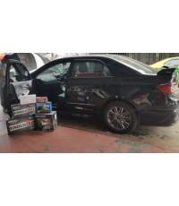 TOYOTA ALTIS 2008-2012 ติดตั้งงานชุดเครื่องเสียงรถยนต์แบบ multimedia  SPL ไว้วางใจ KENWOOD DDX715WB