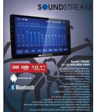 soundstream anzuo1032D จอแอนดรอยด์ติดรถยนต์ 10นิ้ว เวอร์ชั่น9 ram2gb rom32gb quad core1.3ghz มีDSPปร